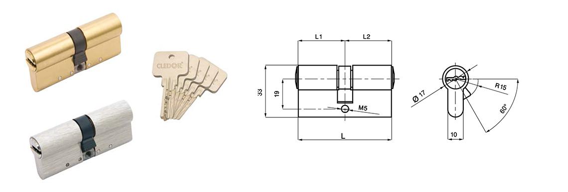 cylindre haute s curit v16. Black Bedroom Furniture Sets. Home Design Ideas